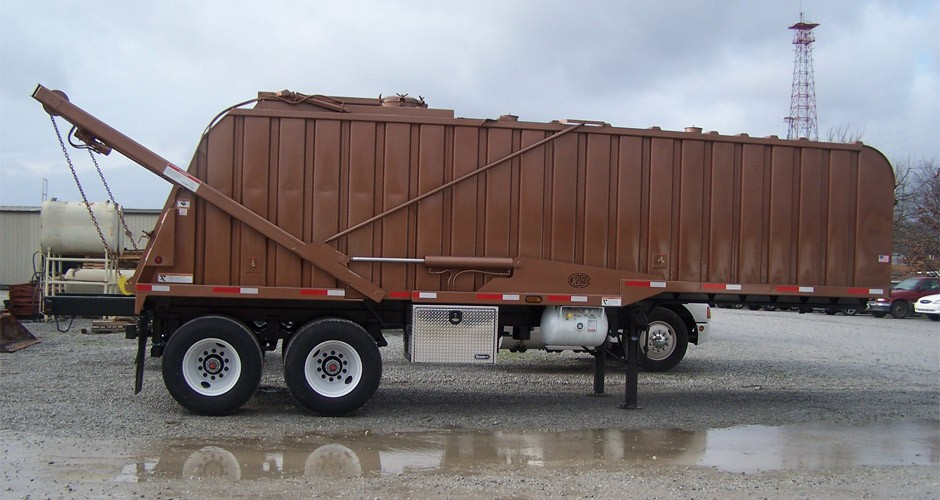 Container Style Grease Bodies And Trailers Brown